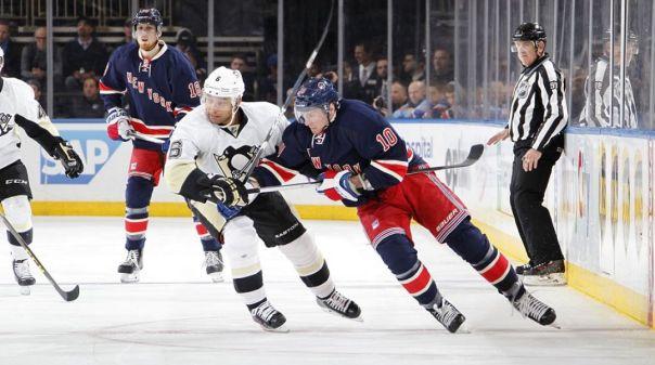 Rangers vs Penguins 3-13