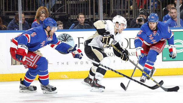 Rangers vs Penguins 3-27