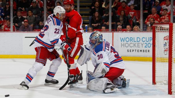 Rangers vs Red Wings 3-12