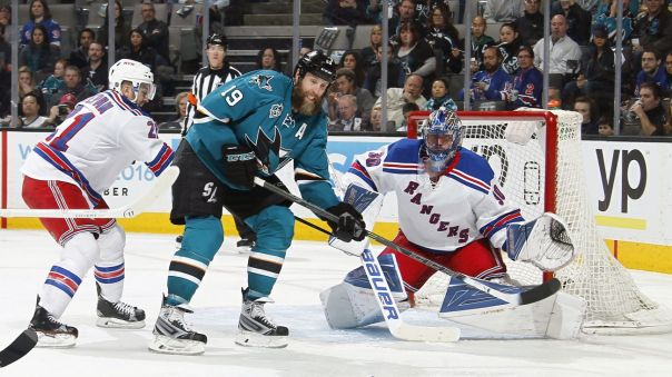 Rangers vs Sharks 3-19