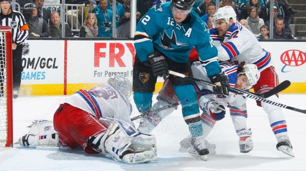 Rangers vs Sharks