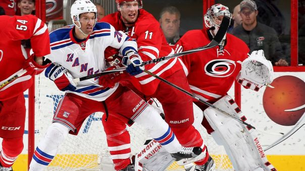 Rangers vs Hurricanes 3-31