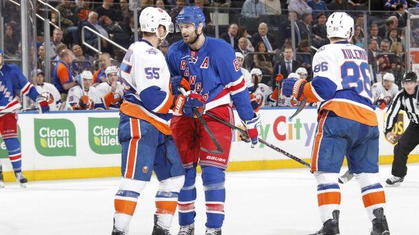 Rangers vs Islanders 4-7