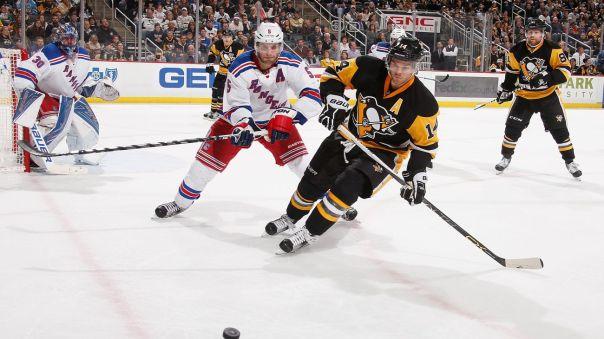 rangers vs penguins 3-3