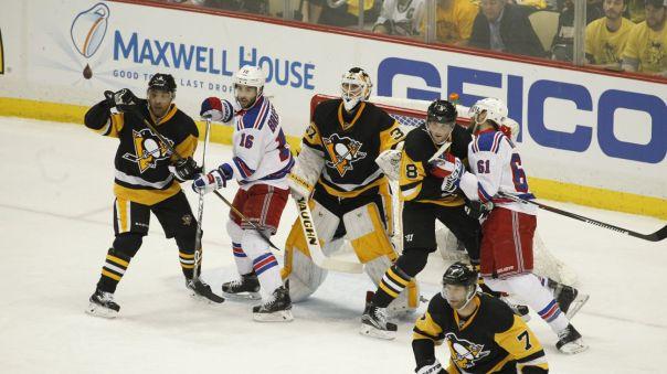 Rangers vs Penguins Game 2 4-16