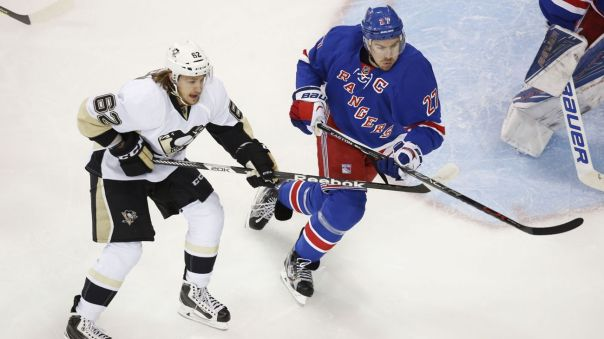 Rangers vs Penguins Game 4 4-21