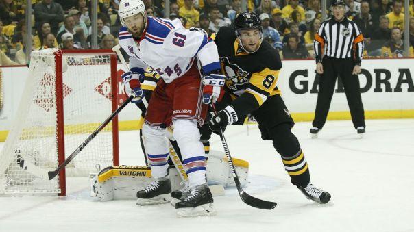 Rangers vs penguins Game 5 4-23