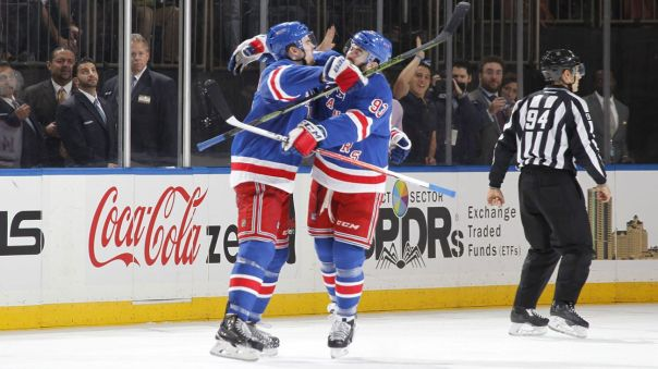dylan mcilrath and keith yandle celebrate 12-15